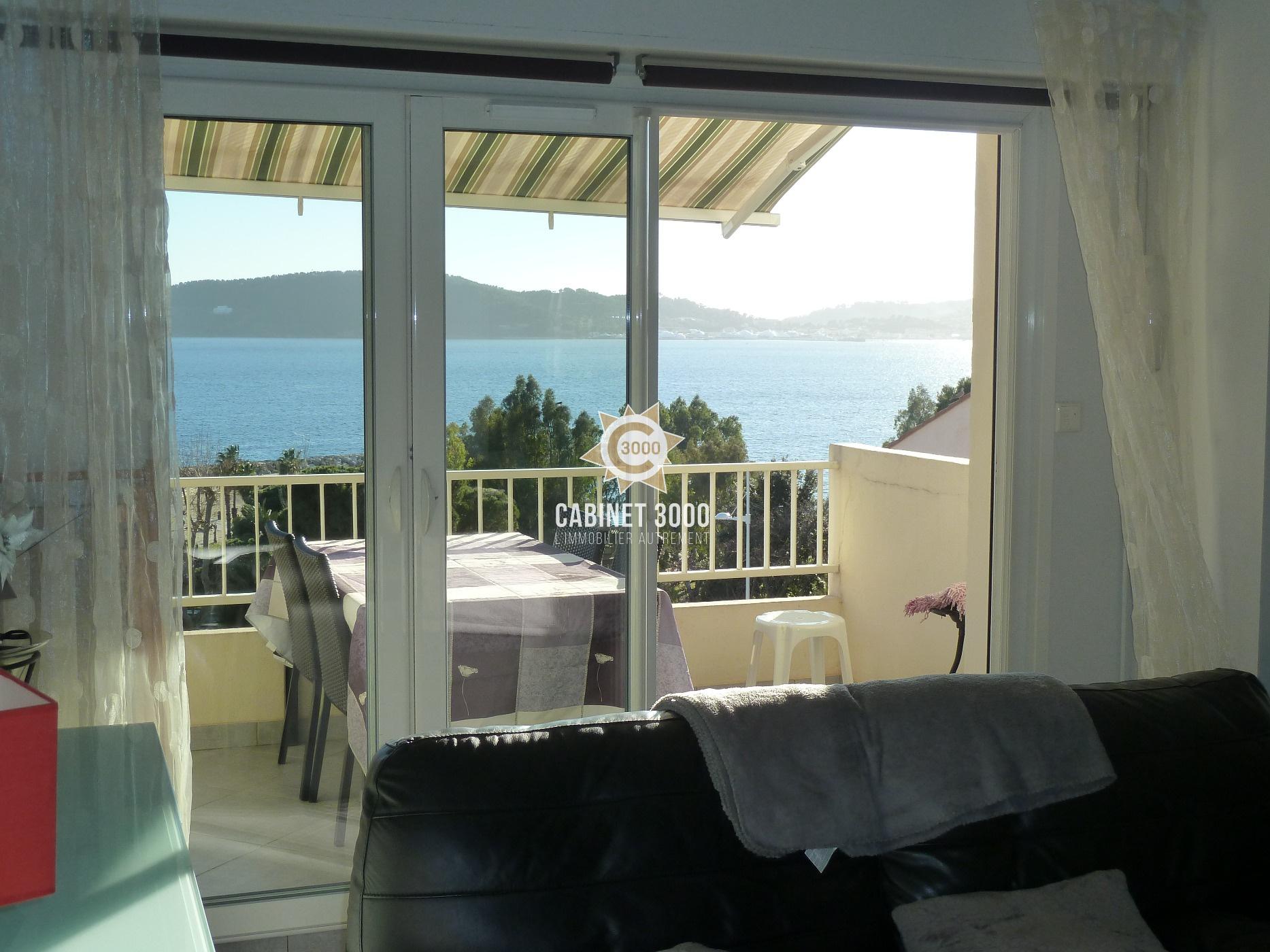 vente m1379 toulon le mourillon t3 belle vue mer. Black Bedroom Furniture Sets. Home Design Ideas